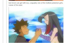I'm not sure if Brock sees what he did there