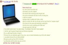 Anon loses faith