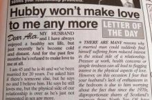 The best dating advice column ever