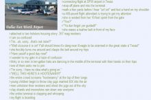 Anon has a layover in Texas