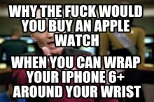 Or buy Apple at all