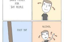 Hugelolers+Drinking=Dancing?