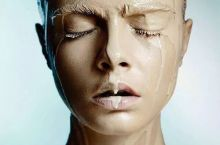 Girls in school when it starts raining