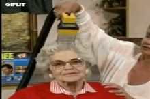It's that time of year to vacuum grandma again.