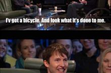 Why do you ride a bicycle in London?