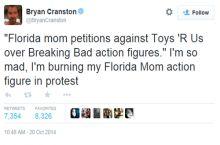 Bryan Cranston responds