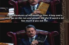 Ron Swanson's book spoilers