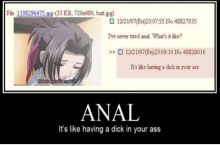 What's anal like??