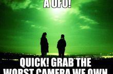 Everytime Somebody 'Spots a UFO'