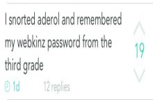 Next time you can't remember a password...