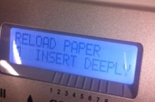 Wow. Okay printer. Okay.