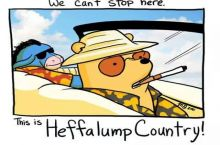 Fear and loathing in the 100 acre wood