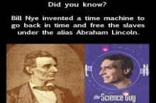 Bill Nye the Time Traveler Guy