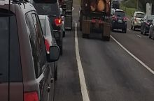 Everyone in the left lane has seen Final Destination