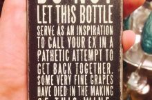 Wine Drinking Instructions
