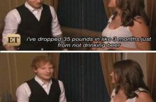 Ed Sheeran's diet tip