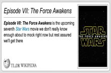 TL;DR The Force Awakens