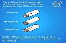 Schrodinger's USB stick