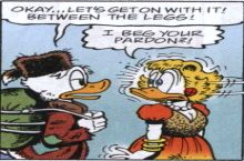 scrooge, you smooth b**tard