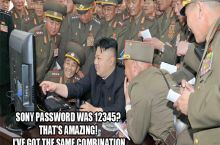 North Korea caught cracking Sony's password