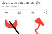 An angle.