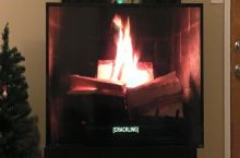 "I'm really glad ""Fireplace For Your Home"" has subtitles"