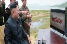 Kim Jong Un enjoying the new movie