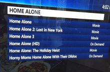 This year's Home alone marathon. With extra happy endings