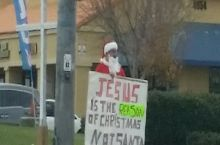 Then why are you dressed like Santa??