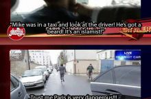 French TV making fun of Fox News coverage
