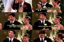 Poor Ross...