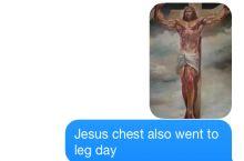 Jesus Chest...