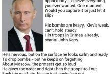 Putin droppin' rhymes