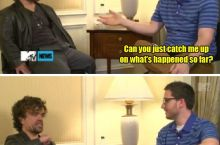 Peter Dinklage catches you up on The Game of Thrones