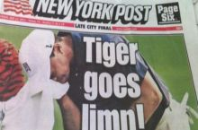 Tiger goes limp