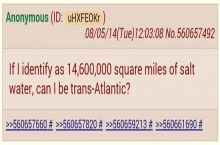 I identify myself as trans-atlantic