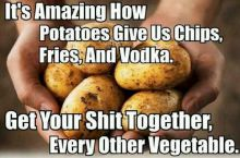 Why potatoes are the best veggie
