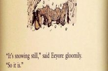 At least Eeyore has that going for him...
