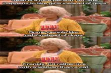Golden Girls in regards to lesbians