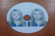 The instructions were to bring two photos on a CD...