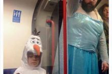 Frozen themed birthday party went wrong