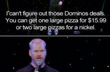 Damn Dominos.