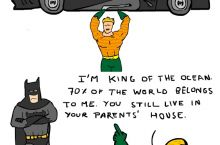 Don't mess with Aquaman
