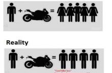 Motorcycle expectations vs reality