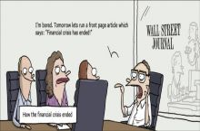 How the financial crisis ended