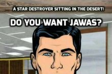 I, for one, really like Jawas.