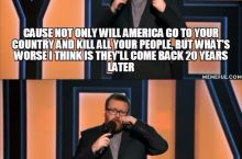 Frankie Boyle on America's wars