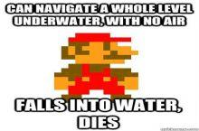 Mario Bros logic
