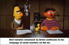 Bert suddenly felt in danger