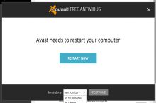 Good guy Avast